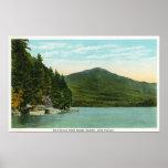 Vista de la montaña de Whiteface de la isla de los Posters