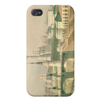Vista de la Moscú el Kremlin, 1830 iPhone 4/4S Carcasa