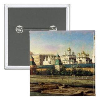 Vista de la Moscú el Kremlin del terraplén Pin