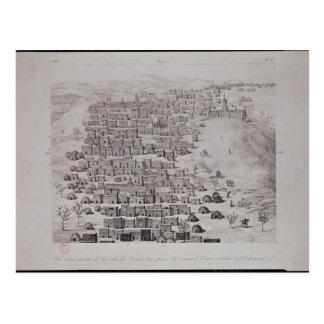 Vista de la parte de la ciudad de Tombuctú de una Tarjeta Postal