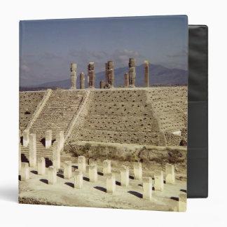 "Vista de la pirámide B, precolombina Carpeta 1 1/2"""