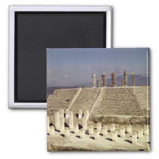 Vista de la pirámide B, precolombina Imán Cuadrado