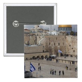 Vista de la plaza occidental de la pared, última h pin