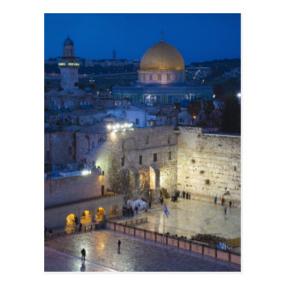 Vista de la plaza occidental de la pared, última tarjetas postales