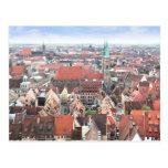 Vista de la postal de Nuremberg