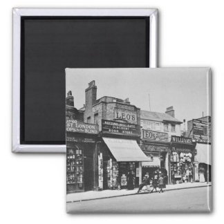 Vista de la puerta de Notting Hill, c.1913 Imán Cuadrado