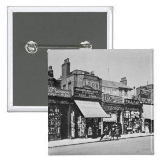 Vista de la puerta de Notting Hill, c.1913 Pin Cuadrado