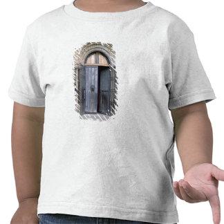 Vista de la puerta del norte de la catedral de camiseta