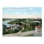 Vista de la rama vintage 1911 de Brook Park, Newar Postales