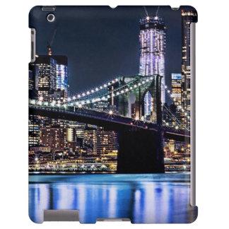 Vista de la reflexión del puente de Brooklyn de Nu Funda Para iPad