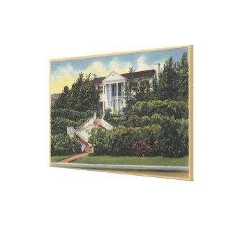 Vista de la residencia de Loretta Young Lona Estirada Galerias