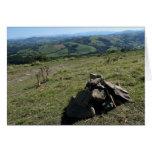 Vista de la tarjeta de los Pirineos