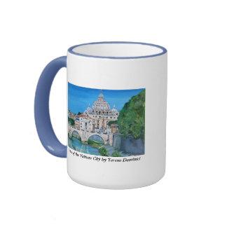 Vista de la taza de la Ciudad del Vaticano