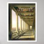 Vista de la tercera logia del piso en el Vatican,  Impresiones