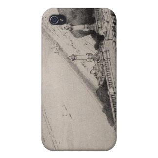 Vista de la tierra de taladro propuesta iPhone 4 coberturas