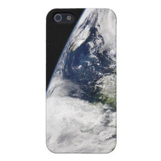 Vista de la tierra del espacio iPhone 5 cárcasa