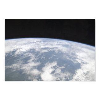 Vista de la tierra del planeta del espacio fotos