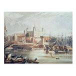 Vista de la torre de Londres Postales