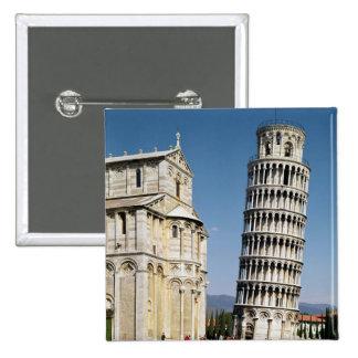 Vista de la torre inclinada pin cuadrado