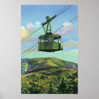 Vista de la tranvía del Mt del cañón que asciende Impresiones