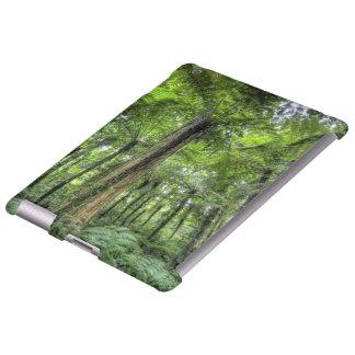 Vista de la vegetación en los jardines botánicos d funda para iPad