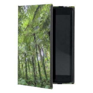 Vista de la vegetación en los jardines botánicos d iPad mini cárcasas