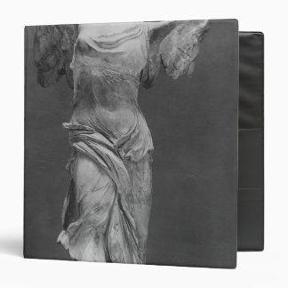"Vista de la victoria Samothrace en museo del Carpeta 1 1/2"""