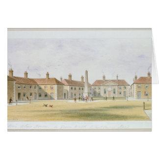 Vista de las casas de las limosnas de Charles Hopt Tarjeta De Felicitación