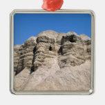 Vista de las cuevas de Qumran Ornaments Para Arbol De Navidad