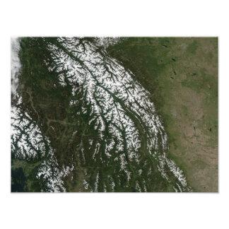 Vista de las montañas rocosas fotos