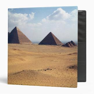 Vista de las pirámides de Cheops