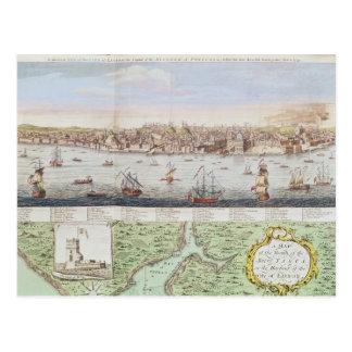 Vista de Lisboa, 1755 Postales