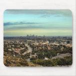Vista de Los Ángeles Alfombrilla De Ratón