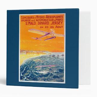 "Vista de los aviones del flotador en poster del carpeta 2"""
