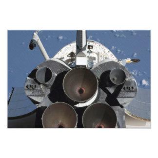 Vista de los tres motores principales cojinete