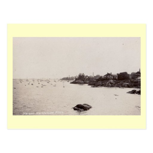 Vista de Marblehead, vintage de Massachusetts