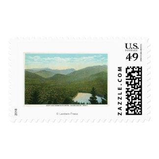 Vista de McIntyre, de Colden, y de Marcy Mts. Sellos