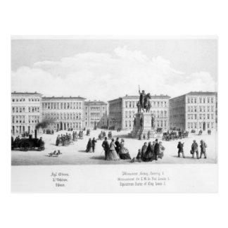 Vista de Munich, 1869 Postales