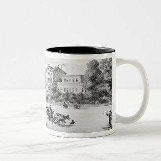 Vista de Munich, 1869 Tazas De Café