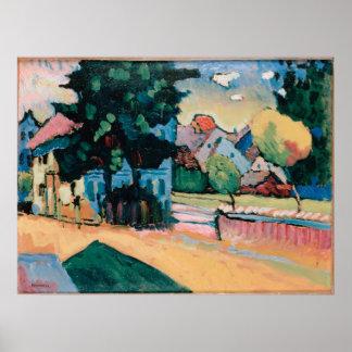 Vista de Murnau Poster