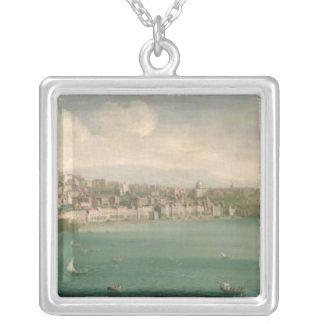 Vista de Nápoles del oeste, 1730 Collares Personalizados
