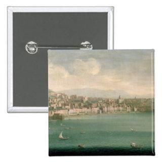 Vista de Nápoles del oeste, 1730 Pins