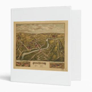 "Vista de Naugatuck, Connecticut (1877) Carpeta 1"""