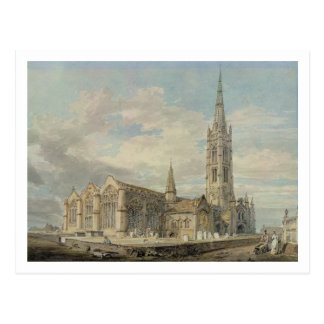 Vista de nordeste de la iglesia de Grantham, Linco Postales