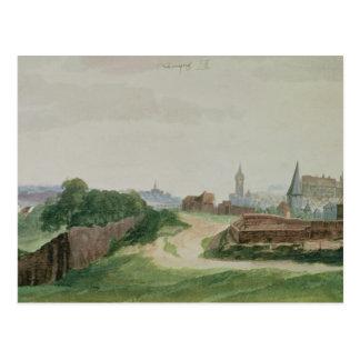 Vista de Nuremberg, 1496-97 Tarjetas Postales