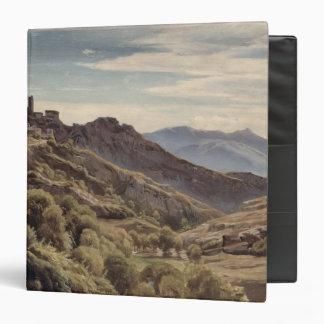 "Vista de Olevano Carpeta 1 1/2"""