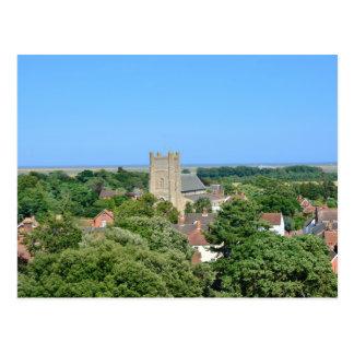 Vista de Orford del castillo Tarjetas Postales