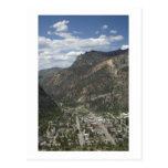 vista de ouray tarjeta postal