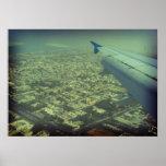 Vista de pájaro de Dubai Impresiones