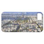 Vista de París con la defensa de la torre Eiffel y Funda Para iPhone 5 Barely There